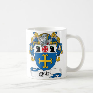 Miller Family Crest Coffee Mug
