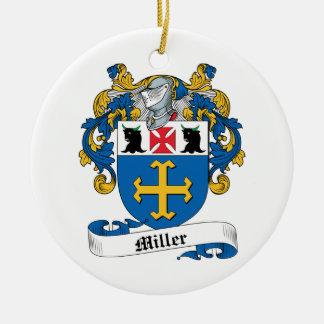 Miller Family Crest Ornament