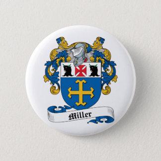 Miller Family Crest Pinback Button