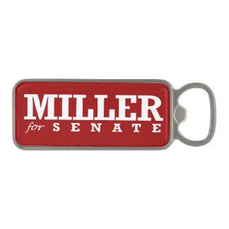 MILLER FOR SENATE 2014 MAGNETIC BOTTLE OPENER