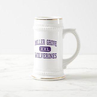 Miller Grove - Wolverines - High - Lithonia 18 Oz Beer Stein