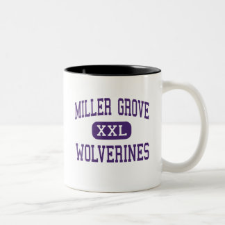 Miller Grove - Wolverines - High - Lithonia Two-Tone Coffee Mug
