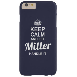 Miller handle it! barely there iPhone 6 plus case