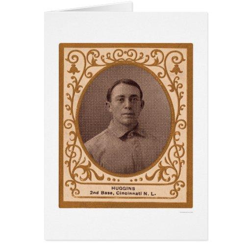 Miller Huggins Baseball Card 1909