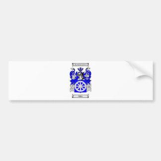 Miller (Jewish) Coat of Arms Bumper Sticker