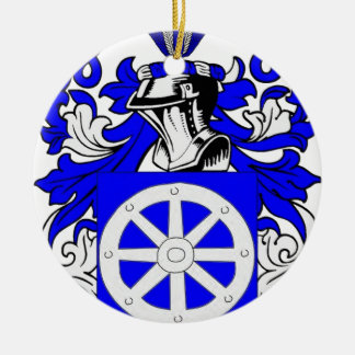 Miller (Jewish) Coat of Arms Christmas Tree Ornaments