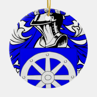 Miller (Jewish) Coat of Arms Christmas Ornament