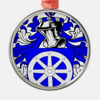 Miller (Jewish) Coat of Arms Christmas Ornaments