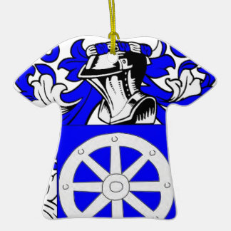 Miller (Jewish) Coat of Arms Ornament