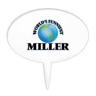 Miller más divertido del mundo decoración de tarta