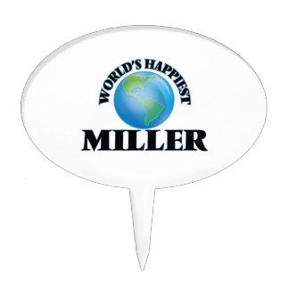 Miller más feliz del mundo figura para tarta