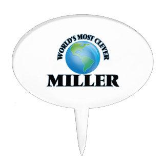 Miller más listo del mundo decoración para tarta