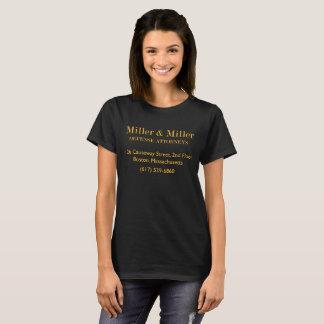 Miller Miller Defense Attorneys Women's T-Shirt