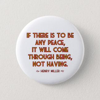 Miller on Peace Button