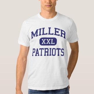 Miller - patriotas - joven - Fairmont Playera