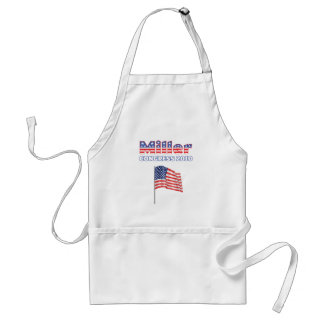 Miller Patriotic American Flag 2010 Elections Apron