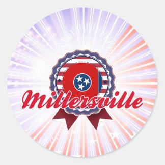 Millersville, TN Pegatina Redonda