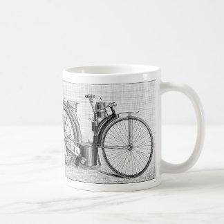 Millet Motorcycle, 1895 Coffee Mug