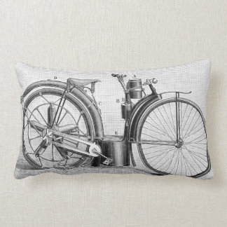 Millet Motorcycle, 1895 Lumbar Pillow