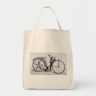 Millet Motorcycle, 1895 Tote Bag