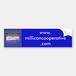 Millican Cooperative Bumper Sticker
