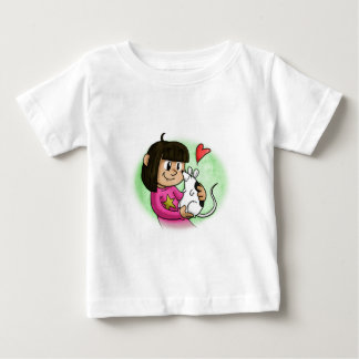 Millie and Cupcake Baby T-Shirt