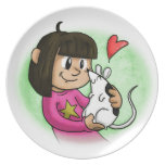 Millie and Cupcake Party Plates