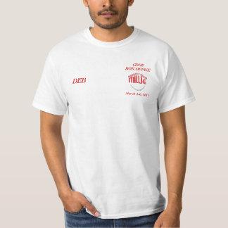 millie, CDHSBOX OFFICE, March 2 6, 2011, DEB T Shirt