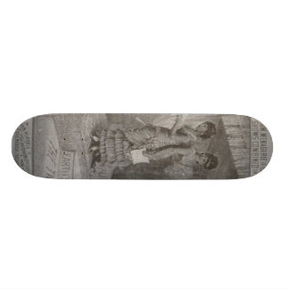 millie christine skateboard deck