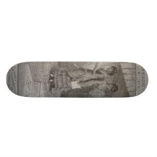 millie christine skateboard deck