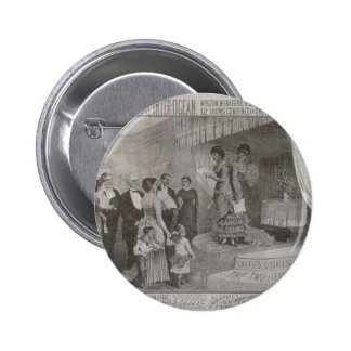 Millie Christine The Two Headed Lady Pinback Buttons