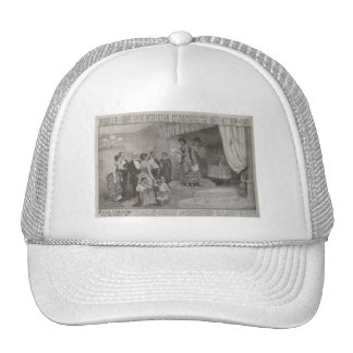 Millie Christine The Two Headed Lady Trucker Hats