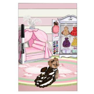 Millie LaRue French Bedroom Dry-Erase Boards