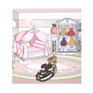 Millie LaRue French Bedroom Memo Note Pads