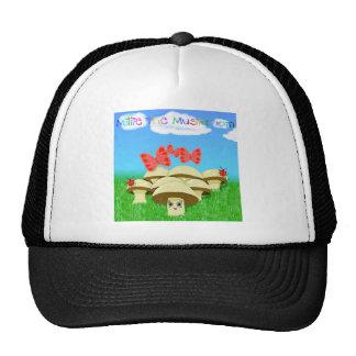 Millie The Mushroom Trucker Hats