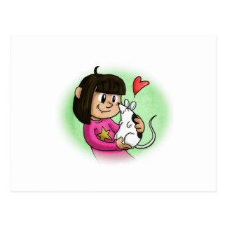 Millie y magdalena tarjeta postal