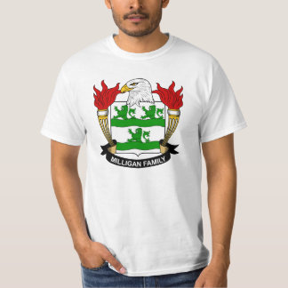 Milligan Family Crest T-Shirt