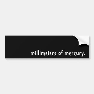 Millimeters Sticker
