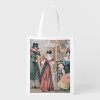 Milliners , printed by Charles Joseph Grocery Bag