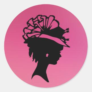 Millinery 7 pink ice sticker © Angel Honey 2010