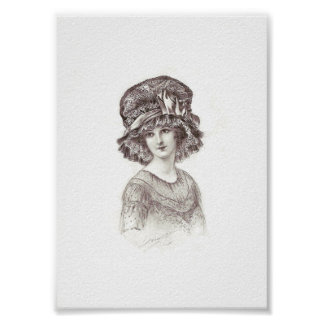 Millinery Herald Image Poster