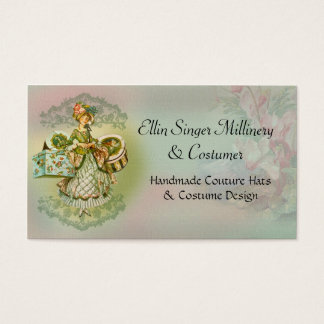 Millinery or Costumers Business Card
