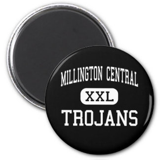 Millington Central - Trojans - High - Millington 2 Inch Round Magnet