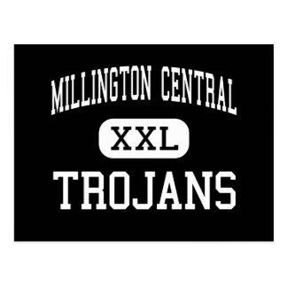 Millington Central - Trojans - High - Millington Postcard