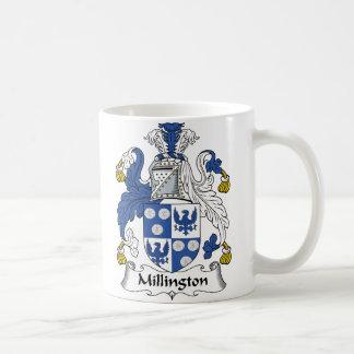 Millington Family Crest Classic White Coffee Mug