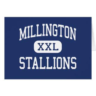 Millington Stallions Middle Millington Greeting Card
