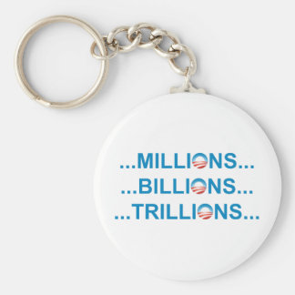 MILLION BILLION TRILLION KEYCHAIN