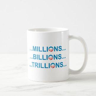 MILLION BILLION TRILLION MUGS