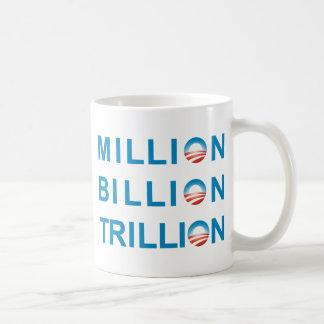 MILLION BILLION TRILLION COFFEE MUG
