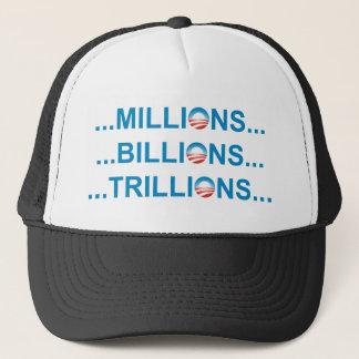 MILLION BILLION TRILLION TRUCKER HAT